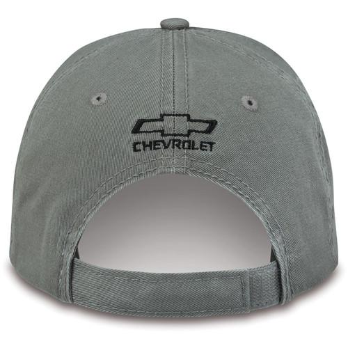 Chevrolet Silverado HD Duramax Olive Green Hat (back)