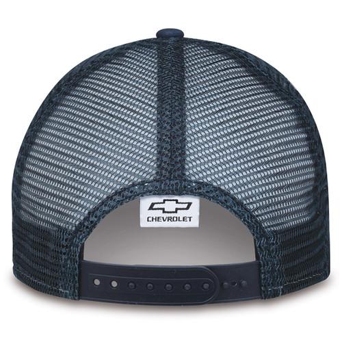 Chevrolet Silverado HD Duramax Navy Blue Hat (back)