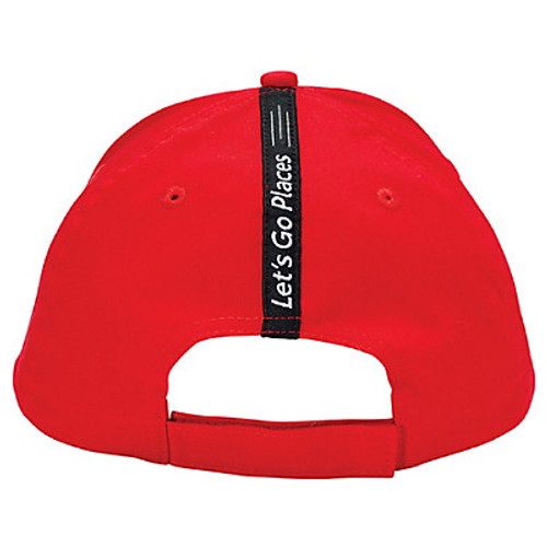 Toyota Black, Gray and Red Logo Hat (back)