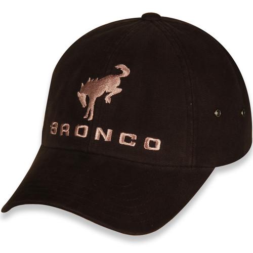 Ford Bronco Dark Brown Unstructured Hat (left)