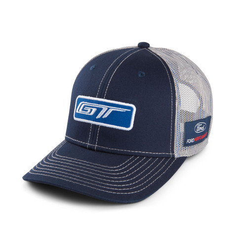 Ford GT Blue and Gray Mesh Hat  (zoom)