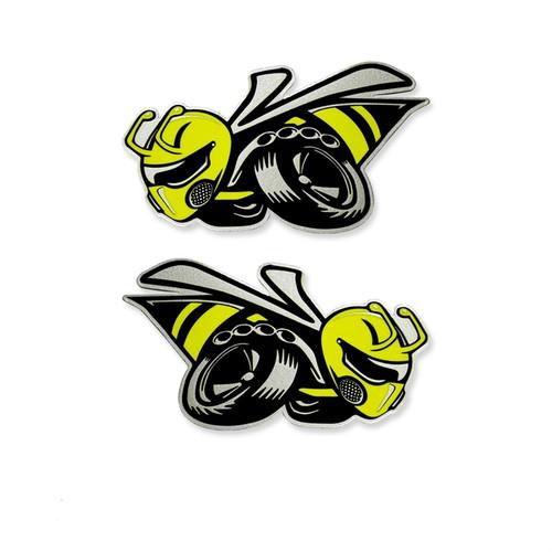 Dodge Angry Bee Acrylic Badge