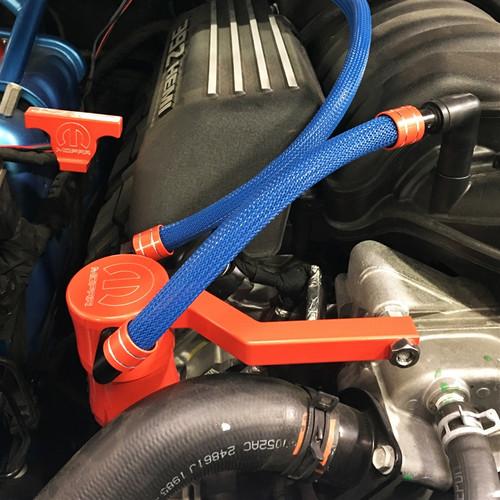 Dodge Charger/Challenger Billet Catch Can Kit (engine alt)