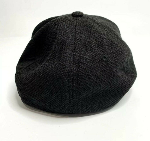C6 Corvette Black Flex Fit Hat (back)