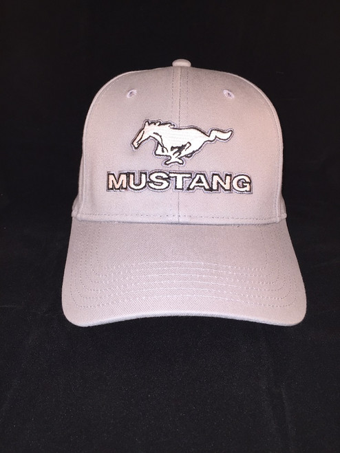 Ford Mustang Pony Gray Hat