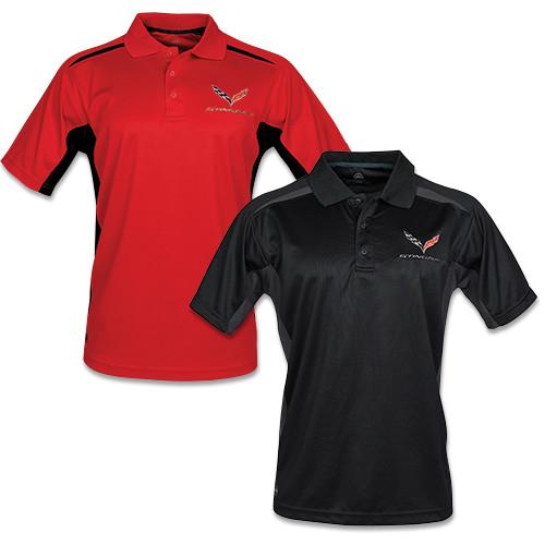 C7 Corvette Stingray Stormtech Match Polo Shirt