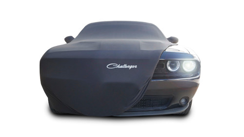 Dodge Challenger ModaStretch Indoor Car Cover (front)