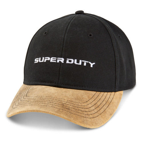 Ford Super Duty Black and Camel Hat