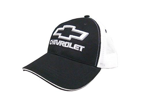 Chevy Bowtie Black Mesh Hat (alt)