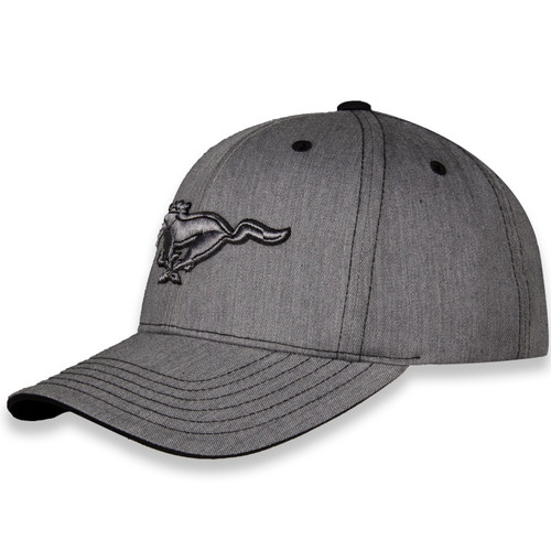 Ford Mustang Heather Gray Hat (left)