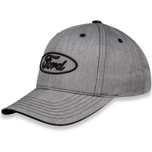 Ford Oval Heather Gray Hat (left)