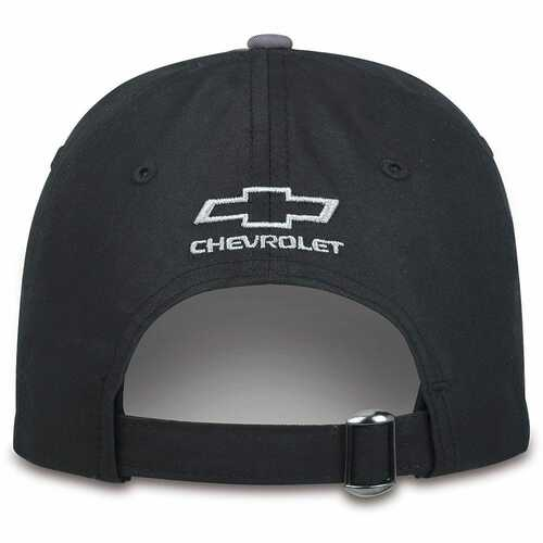 Chevrolet ZR2 Gray and Black Hat (back)