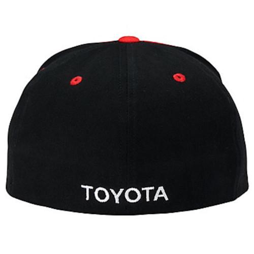 Toyota Black, Red and White Flatbill Slugger Flex Hat (back)