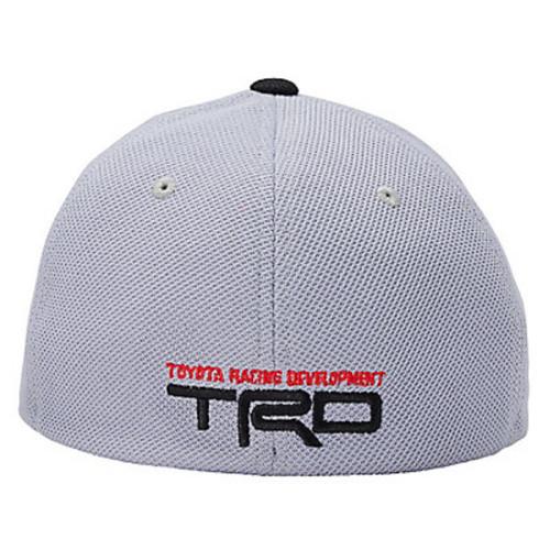Toyota TRD Checkered Flag Flex Mesh Hat (back)