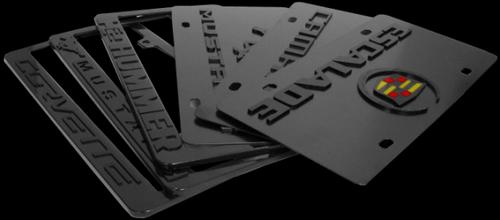Sample License Plates