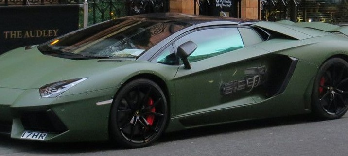 Military Green Super Car!