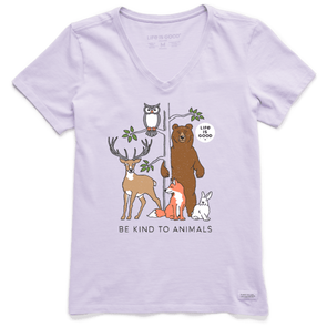 Life Is Good Be Kind To Animals Crusher Tee