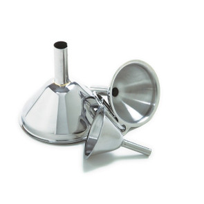 3pc Stainless Steel Funnel Set