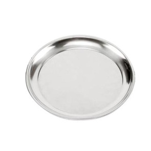 """Stainless Steel Pizza Pan 13.5"""" NORPRO"""