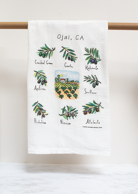 Olives Flour Sack Towels