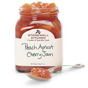 Peach Apricot Cherry Jam, 101355-Stonewall Kitchen
