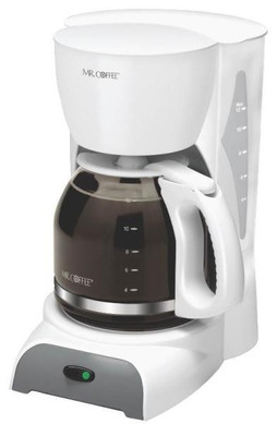 12 Cup Coffee Maker-White