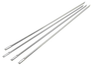 "Slim Grill Skewer, 4 Pieces, 15"" Length"