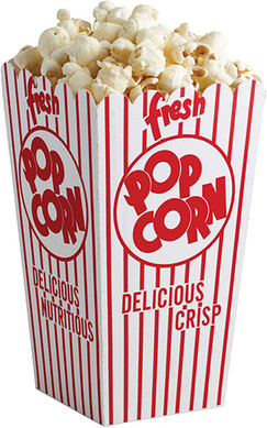 Popcorn Boxes-6, RW328 Regency Wraps