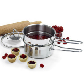 1.5 qt Stainless Steel Double Boiler