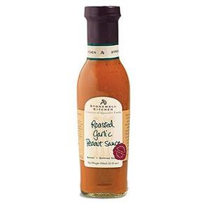 Roasted Garlic Peanut Sauce, 12.7 oz, 131102-Stonewall Kitchen