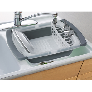 Collapsible Over-the-Sink Dish Drainer