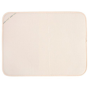 Extra Large Dish Drying Mat-Cream Color