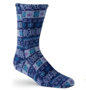 Versa fit print sock, A21208CAK-Acorn
