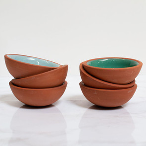 Terracotta Pinch Bowls
