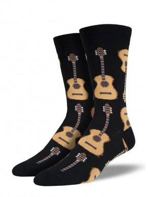 Guitars socks, men's, MNC202-SockSmith