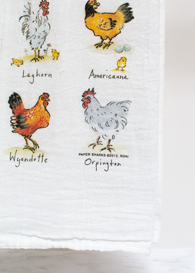 Mom Hens Flour Sack Towel RS144