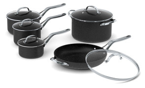 The Rock 10-Piece Cookware Set 060319