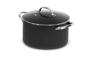 The Rock - 6 Qt Stockpot w\Glass Lid 060317