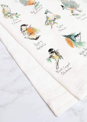 Little Birds Flour Sack Towel RS163