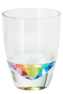 Rainbow Diamond Acrylic Tumbler 14oz