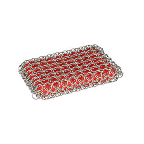 Lodge® Chainmail Scrubbing Pad-Red ACM10R41