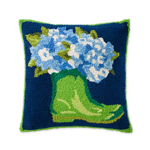 "18""x18'' Indoor/Outdoor Pillow Garden Boot"