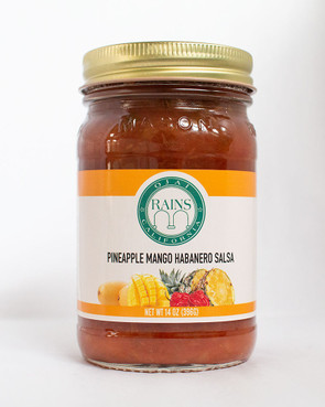 RAINS Pineapple Mango Habanero Salsa