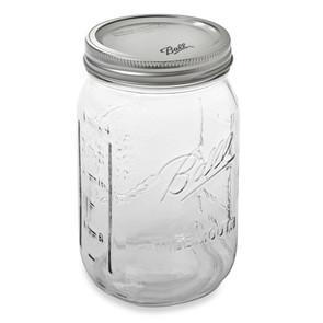 Ball Wide Mouth Mason Canning Jar, Quart