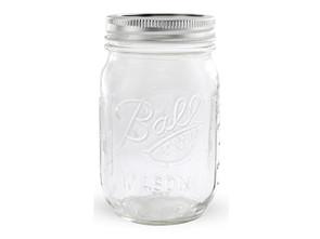 Ball Regular Mouth Mason Canning Jar, Pint