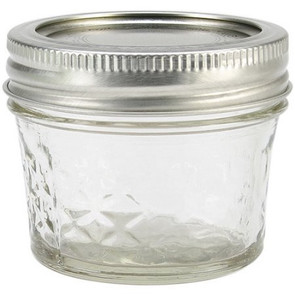 Ball Quilted Jelly Jar, 4 oz.