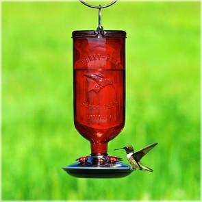 Perky-Pet Red Antique Hummingbird Feeder