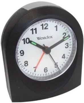 Westclox Arched Quartz Alarm Clock