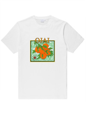 OJAI Orange crate logo Tee