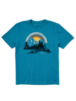 Men's Life is Good Lake it like this Crusher Tee